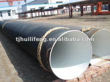 Tubería de acero sin costura de epoxy de alquitrán de hulla