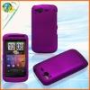 For HTC Desire S G12 purple color mobile phone rubberized case