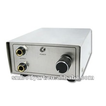 Stainless steel fine--tunning tattoo power supply