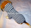 classical stripe dog hoodie for pets