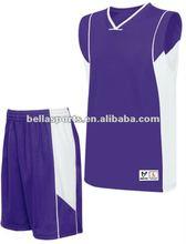 Basketball Jersey Uniform With Mini-mesh Shorts