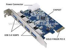 Hot selling USB 3.0 PCI-E card adapter