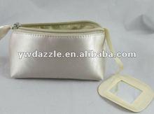 Bling Satin Travel Satin Beauty Bag Ladies