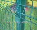 Fabricação de alimentação PVC revestido de malha cerca para jardim