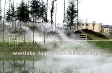 Fog Cloud Water Fountain in River for landscaping