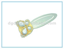 fashion personalized metal bookmark with butterfly design