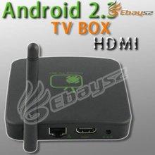 New Google Android 2.3 Internet TV Box Set Top Box A9 WIFI Media Player 1080P Full HD HDTV LF-0885