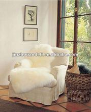 plush sheepskin customized chair cushion