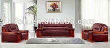 Italian leather sofa,sectional massage sofa,office sofa(FOHS-6802)
