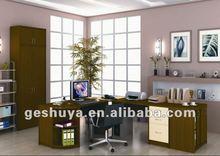 Lb-jx5020 modern tasarım ahşap kaplama ofis mobilyaları