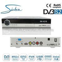 1080P Satellite Receiver Software Upgrade