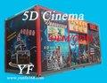 el cine 5d con led