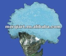 Light blue Hot sell team spirit wig school spirit wig