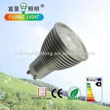 FJ excellent luminous 85V-265V GU10 3*2W spot light