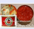 Orgânica molho de tomate enlatados Brix 28 - 30%