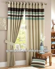 100% polyester lightproof color printed window curtain