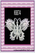 machine embroidery neck lace design