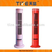 Bladeless mini stand fan TZ-USB380+ USB oscillating fancy ceiling fan