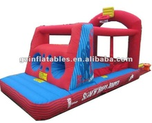 (Qi Ling) inflatable kids basketball bouncy