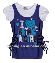 Child clothing 2 pcs set for girl Top