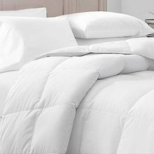 goose/duck down 100% cotton shell bedding comforters