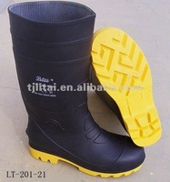 coal mining safety steel toe gum boots