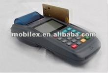 Portátil tarjeta de débito tarjeta de terminales con escáner de código de barras ( MX3100 polvo )