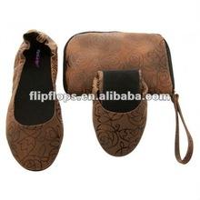Sapatos dobráveis plana