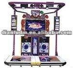 Hot! E dancing music simulator acade amusement big game machine