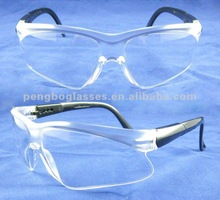 2012 Hot selling clear lens Safety goggle with CE EN166 & ANSI Z87.1