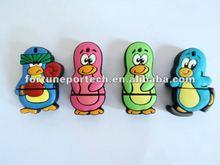 lovely pvc cartoon usb flash drive wholesale!!