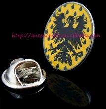 Yellow & Black Custom Factory Metal Car Badge Emblem