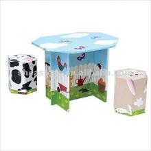 2012 Fashionable children toys corrugate paper furniture