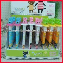 fashion cat ergonomic ballpoint pen