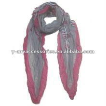 2012 Fashion zebra printed scarf