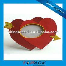 Hot Heart Shape refrigerator magnet picture frame(TP-FM408)