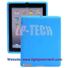 2012 New Thickened Silicone Shell Cover for new ipad