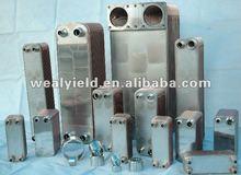 Weal Yield laminated evaporator