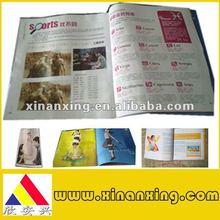 promotional literature magazine printing newly product