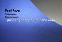 "JS 120g 31""*43"" Glossy Texture Embossed Metallic Paper"