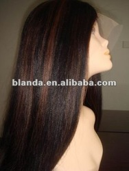 AAA Long Style Celebrity Wig With Good Repution