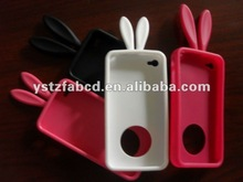 Lively Rabbit Silicone Skin Case for Mobile Phone