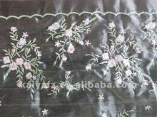 fancy embroidery organza