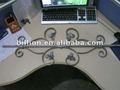 2012 china , fabricación de fábrica hierro forjado decorativo balaustre balaustrada diseño para puerta / valla / barandillas balcón escalera