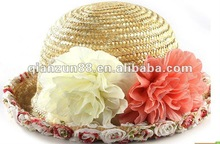 2012 latest sun visor cap straw hat beach hat leisure hat