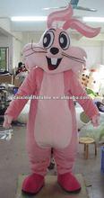 2012 PINK rabbit mascot costume
