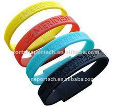 wristband usb flash memory drive stick with free logo
