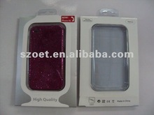 2012 Hot selling iphone case packaging box with clear blister
