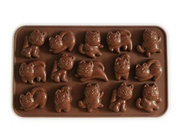 Silicone Dancing Cat Cake /Chocolate Mold