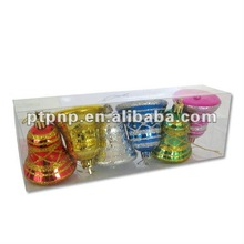 2012 Plastic Christmas Decoration Ball Box with logo